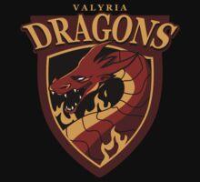 Valyria Dragons by penworksink