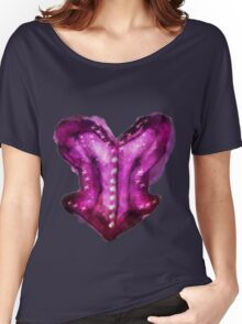 Overbust Magenta  Women's Relaxed Fit T-Shirt