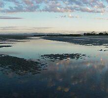 Mudflats sunrise by Jayson Gaskell