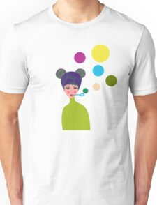 Playful Girl Unisex T-Shirt