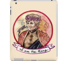 I am the King iPad Case/Skin