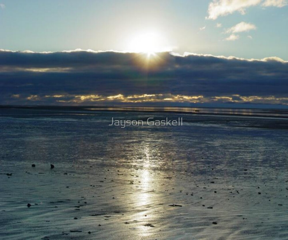 Low Tide Sunrise by Jayson Gaskell