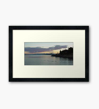 Magnetic Island sunrise 2 Framed Print