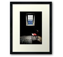 Mill Chair Framed Print