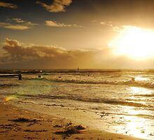 Golden Sunset at Busselton by autumnleaf