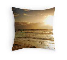 Golden Sunset at Busselton Throw Pillow