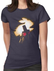 The Black Knight Rises Womens Fitted T-Shirt