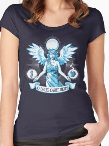 The Angel of Hangovers Women's Fitted Scoop T-Shirt