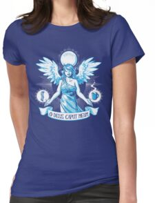 The Angel of Hangovers Womens Fitted T-Shirt