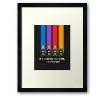 The Legend of TMNT - Brothers Framed Print