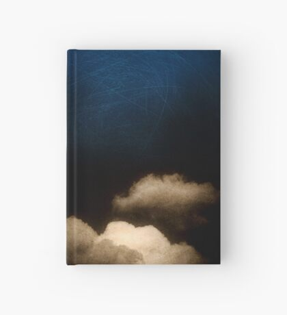 Clouds in a scratched darkness Hardcover Journal