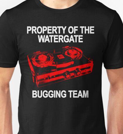 Watergate Bugging Team Unisex T-Shirt