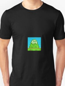 Glitch Homes Wallpaper eightbit swatch T-Shirt