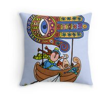 Divine Guidance Throw Pillow