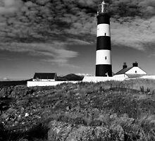 St John's Point, Lighthouse Mono by Wrayzo