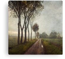 On Hellington Hill Canvas Print