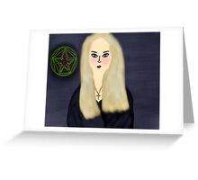 Witch Of The Stars Greeting Card