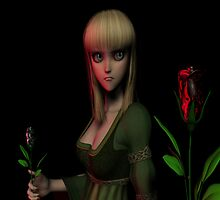 The Woman in mourning by AlArt