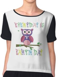 Everyday Is Earth Day Chiffon Top