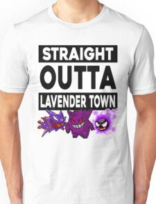 Straight Outta Lavender Town Unisex T-Shirt