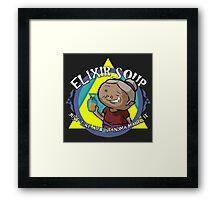 Elixir Soup - Zelda Windwaker Framed Print