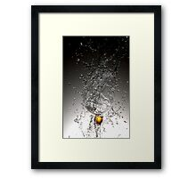 Movement of water 2 Framed Print