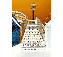 Railway Footbridge Photographic Print