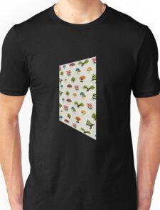 Glitch Homes Wallpaper forest papercut right Unisex T-Shirt