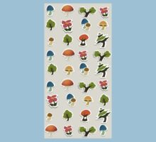 Glitch Homes Wallpaper forest papercut single Kids Tee