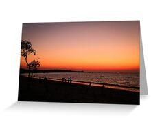 Sunburnt Skies Greeting Card