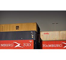 Shipping Containers Photographic Print