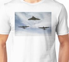 Three Avro bombers Unisex T-Shirt
