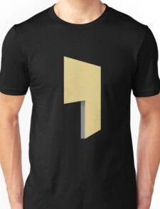 Glitch Homes Wallpaper goldyellow stucco left divide Unisex T-Shirt