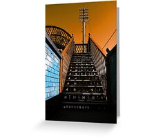 Steps Over The Line Greeting Card