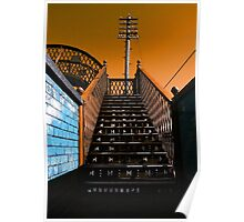 Steps Over The Line Poster