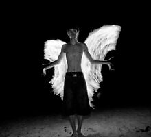 Fire angel by Viv van der Holst
