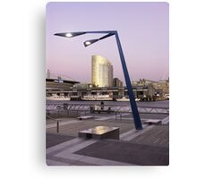 View from Docklands, Melbourne, Australia Canvas Print