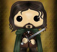Aragorn by SpaceWaffle