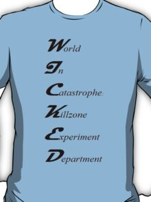 World In Catastrophe: Killzone Experiment Department T-Shirt