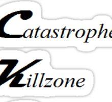 World In Catastrophe: Killzone Experiment Department Sticker