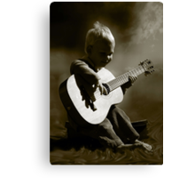 Toddler Tunes... Canvas Print
