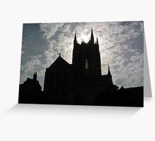New Abbey, Bury st Edmunds, Suffolk , England  Greeting Card
