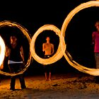 Rings of fire by Viv van der Holst