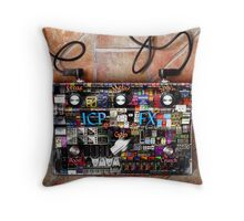 Pedalmania Throw Pillow