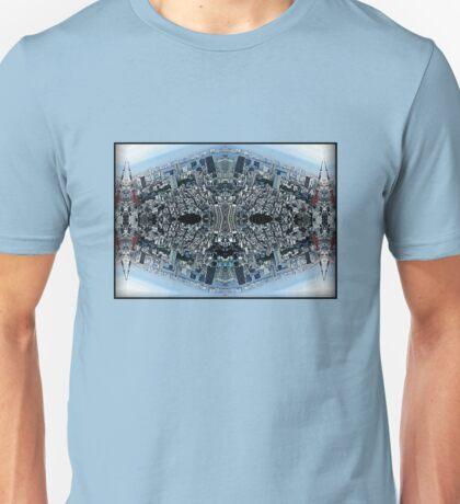 blue urban man Unisex T-Shirt