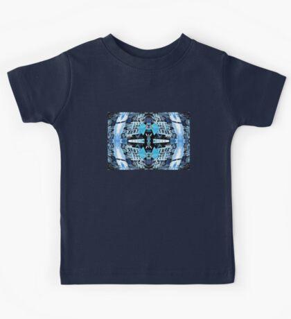 baby blue twilight Kids Tee