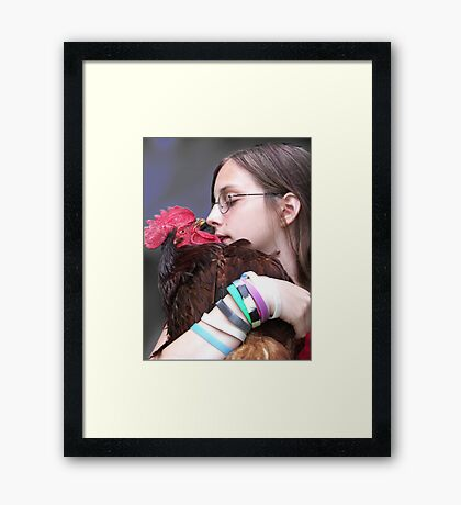 Kate & Ed Framed Print