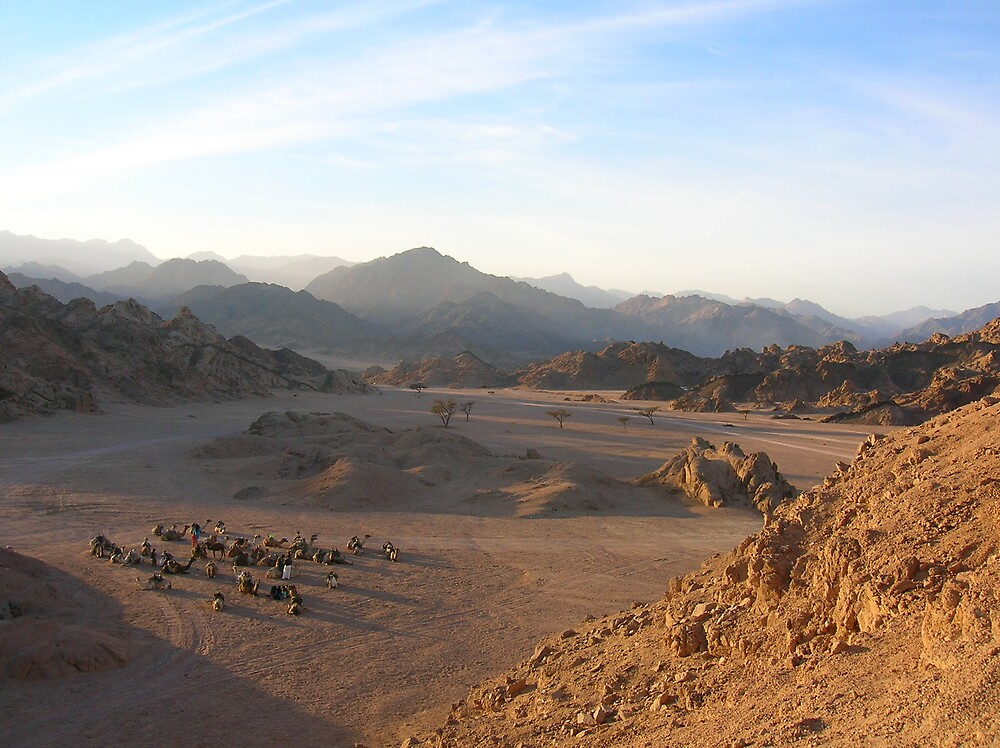 The silence of the Sinai by mariejoubert