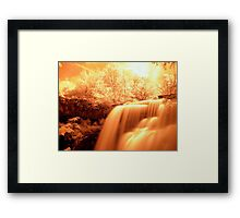 Heaven Shining Down On Me Framed Print