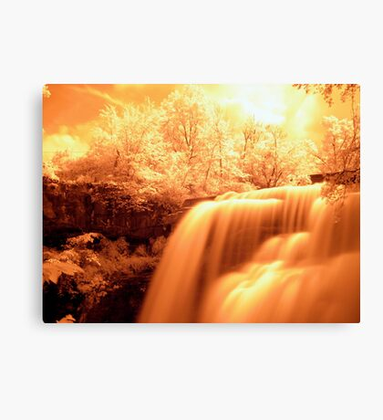 Heaven Shining Down On Me Canvas Print